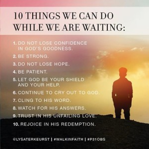 10Things we can do while we are waiting
